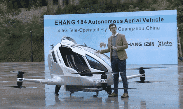 Chinese drone startup EHang plans Pacific crossing for IPO